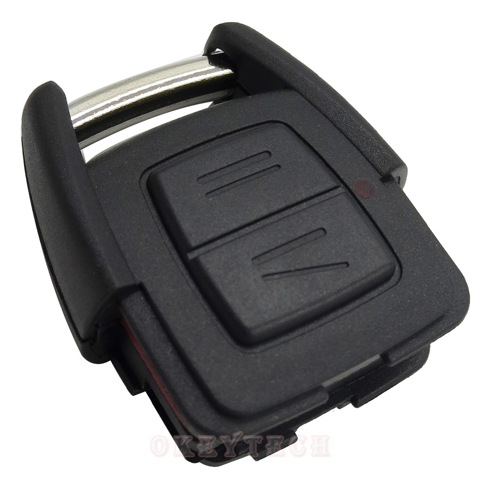 2 Buttons Remote Car Key Shell for Opel Vauxhall Astra Zafira Omega Vectra Blank Car Key
