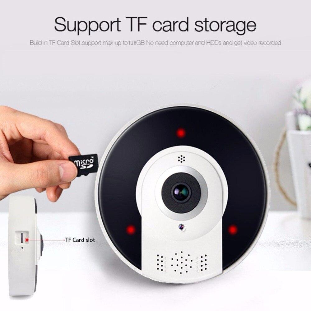 Kruiqi Home Security 1.3MP IP Kamera Wireless WiFi Panoamic IP Kamera Überwachung 960 p Nachtsicht CCTV Baby Monitor 1280*960 - 5
