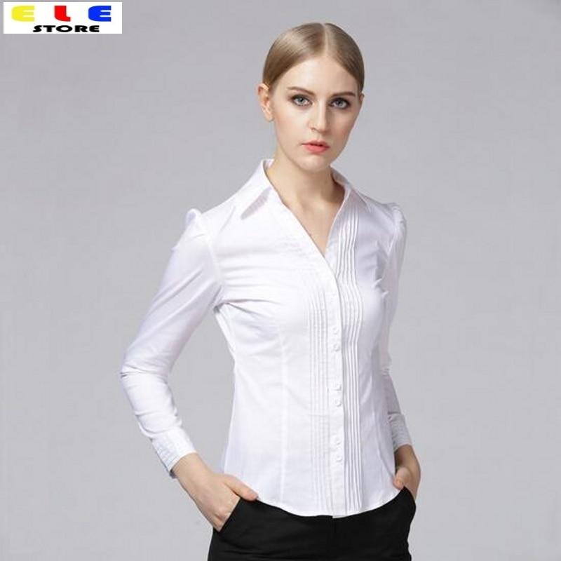 Ladies White Shirts And Blouses - Greek T Shirts