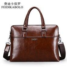 Männer Leder Aktentasche Taschen Business Laptop Einkaufstasche herren Umhängetasche Umhängetasche männer Messenger Reisetaschen