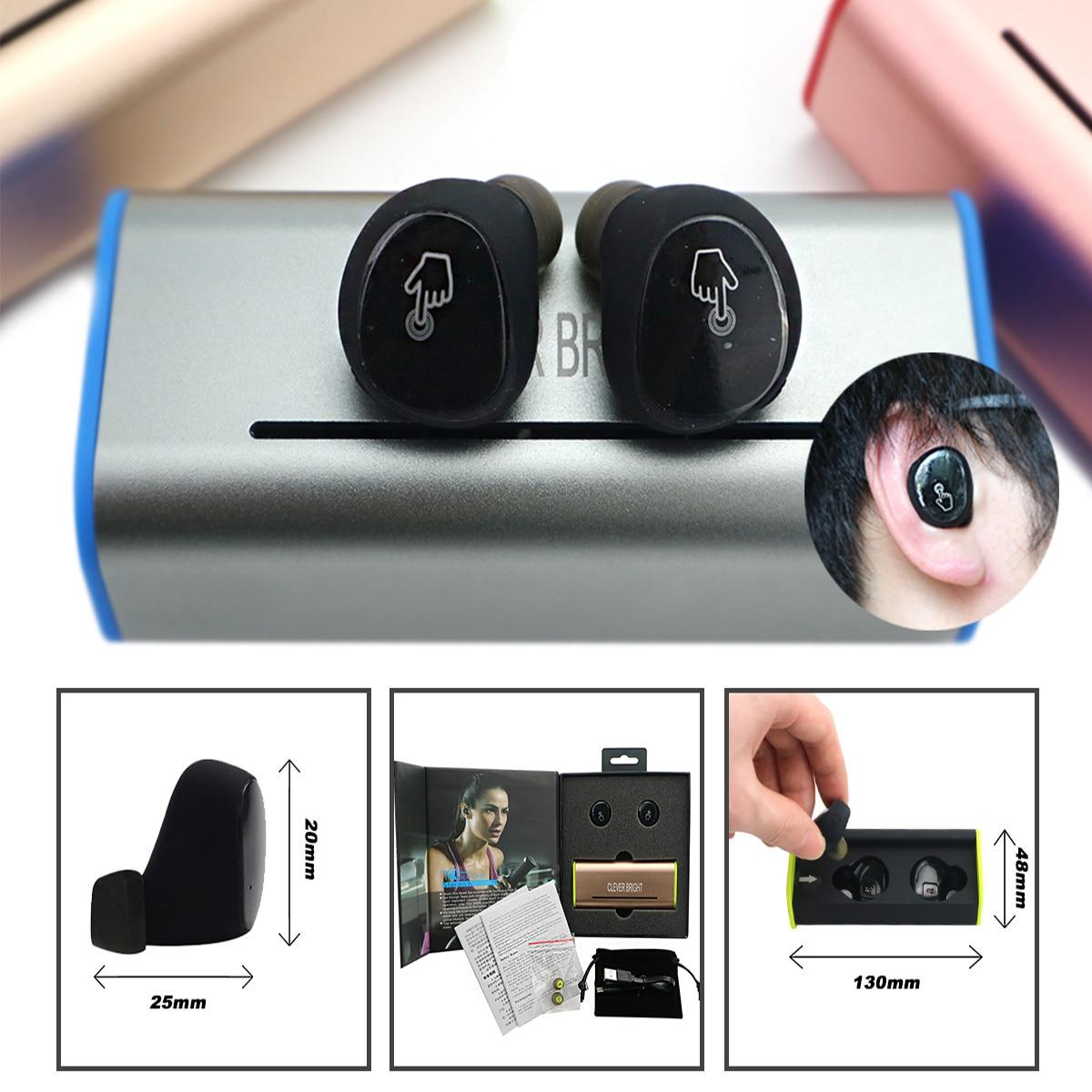 Wireless earphones microphone - earphones wireless charger