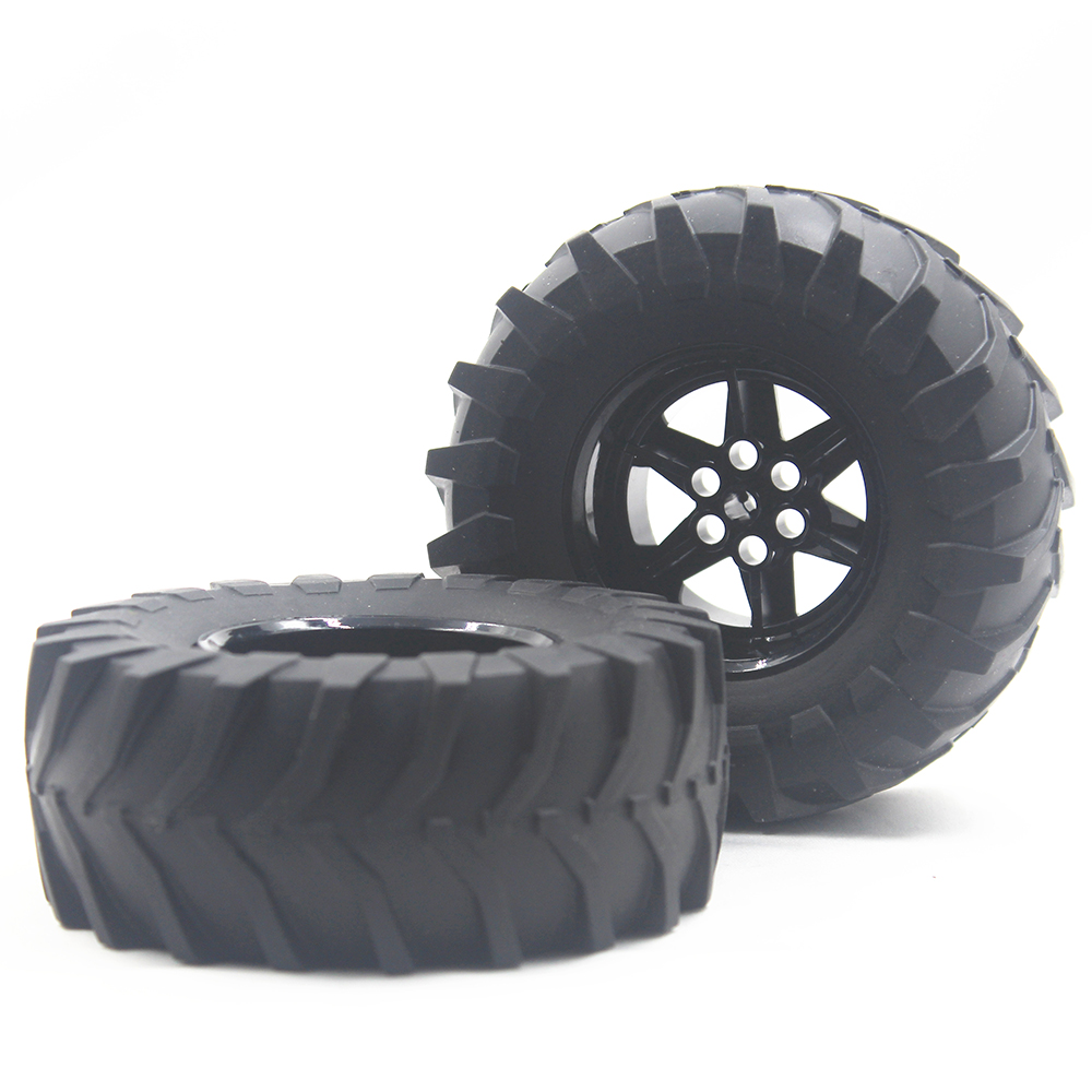 MOC Technic Parts 1pcs TYRE TRACTOR DIA. 107X44 & RIM DIA 56 X 34 Compatible With Lego For Kids Boys Toy