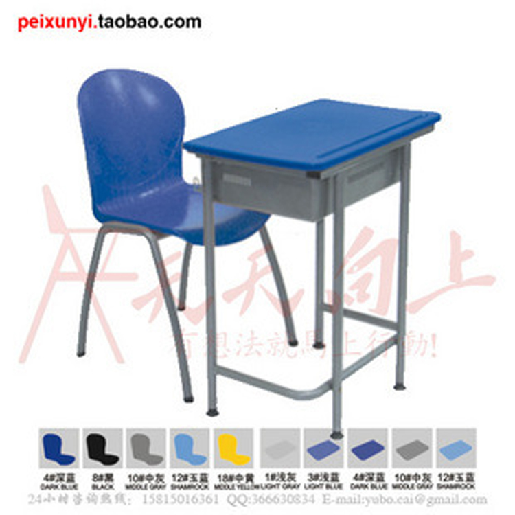 student table and chair 2 piece set single seater desk and chair school desks set classroom ...
