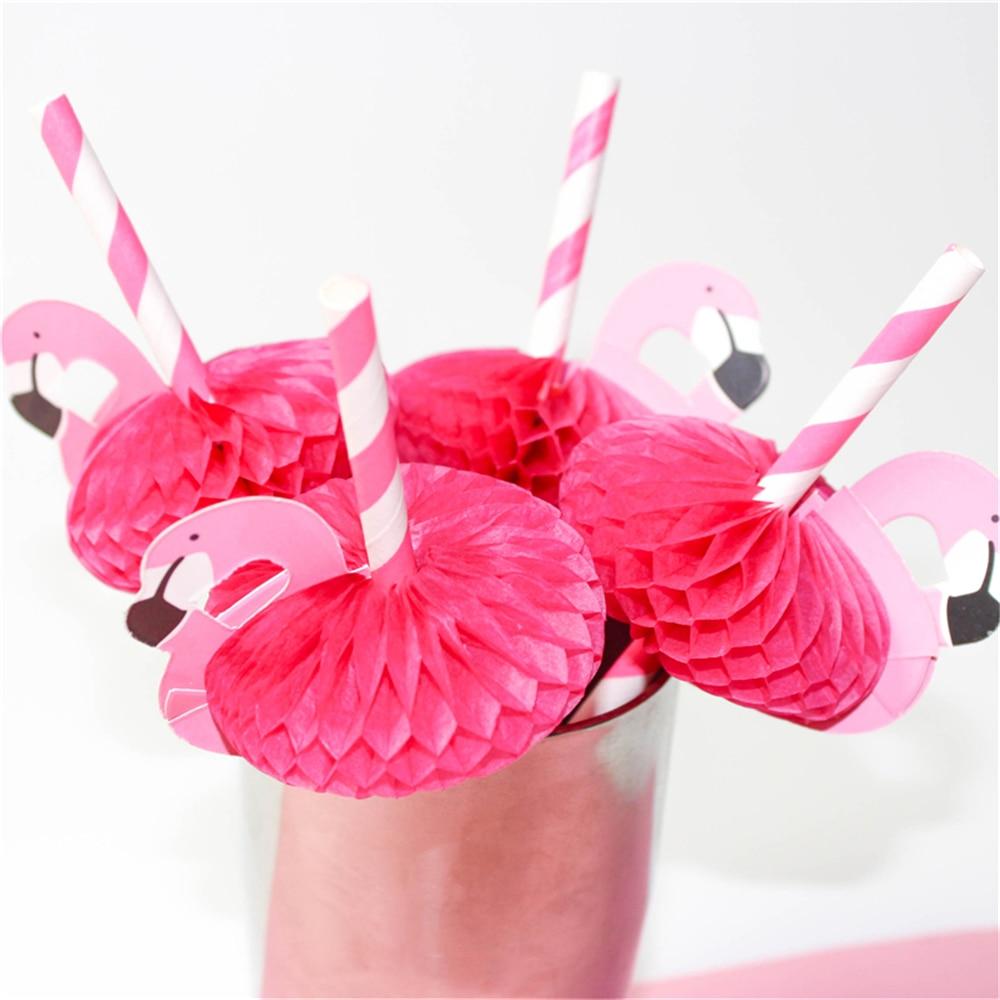 Flamingo Party Straws 10Pcs/set Reusable Plastic Straws Party Diy Decorations Paper Straws Wedding Table Decoration Supplies,9 9