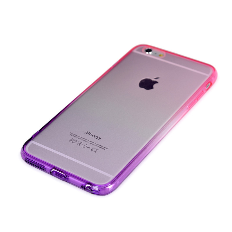 Phone Cases for Apple iPhone 6 plus 5.5inch Case Transparent Gradient Color  TPU Silicon Phone Covers Shell Capa Top Quality on Aliexpress.com  e6a73695c3