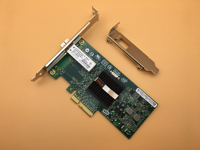все цены на Single Port Server Adapter Fiber NIC PCI-E X4 EXPI9400PF with SFP LX 10KM Module онлайн