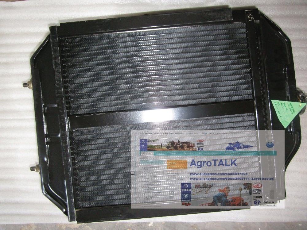 Foton Lovol FT254, the radiator , part number:TE250.13B.1 foton ft254 single way stablizer diverter valve part number ft254 40 030