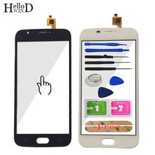 5.0 Touch Screen Panel For Doogee X9 Mini Touch Screen Digitizer Front Glass Panel Lens Sensor Touchscreen Tools Adhesive