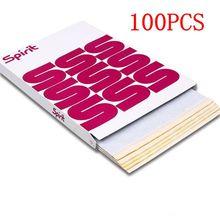 100pcs Tattoo Thermal Stencil Transfer Paper A4 Size Spirit Tattoo Thermal Copier Paper For Tattoo Supply