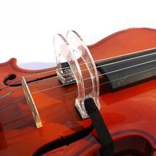 Акриловый Скрипка Лук корректор коллиматор инструмент для выравнивания для начинающих 4/4 3/4 1/2 1/4 1/8 аксессуар для скрипки