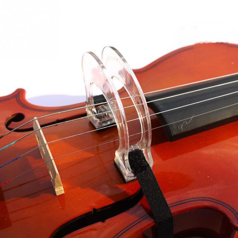 Acrylic Violin Bow Corrector Collimator Straighten Tool For Beginner 4/4 3/4 1/2 1/4 1/8 Violin Accessory