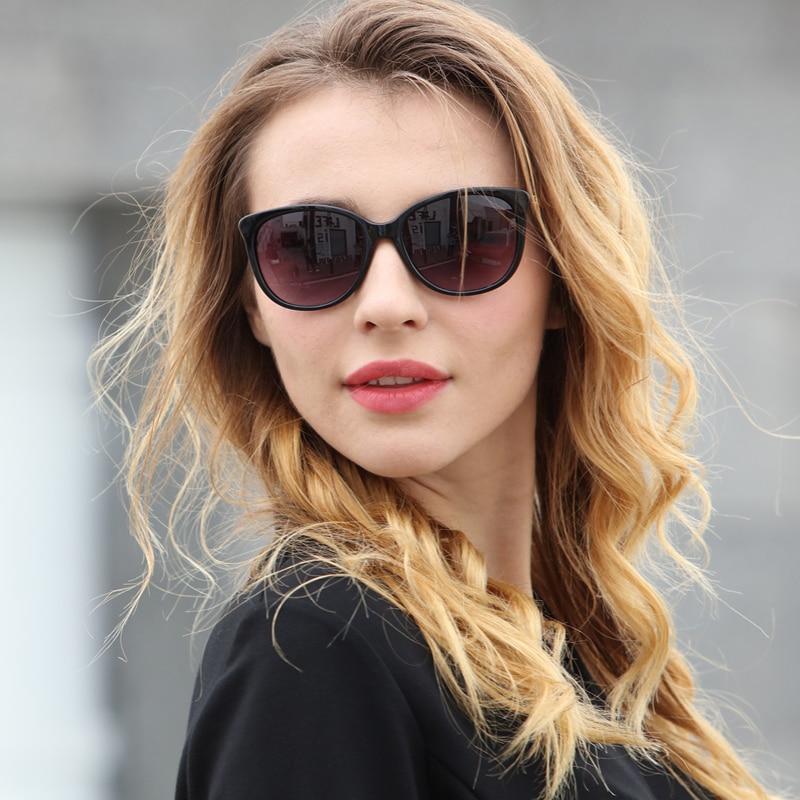 Солнцезащитные очки LongKeeper UV400 женские, роскошные винтажные брендовые дизайнерские солнечные очки «кошачий глаз», 2020