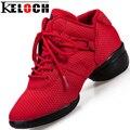 Keloch Plataforma Mujeres Moda Casual Zapatos de Las Señoras Cómodas Zapatos de Malla Transpirable Zapatos Casuales Las Mujeres Tobillo Botas de Baile