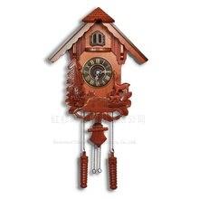 Kuckucksuhr Stndliche Glockenspiel Uhr Europischen Holz Wohnzimmer Wanduhr Geburtstag Partydekorationen Kinder