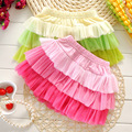 Baby kids sweet style skirt Girls fashion skirts Baby Girl cake ballet tutu pettiskirt children leisure clothing 2 colors