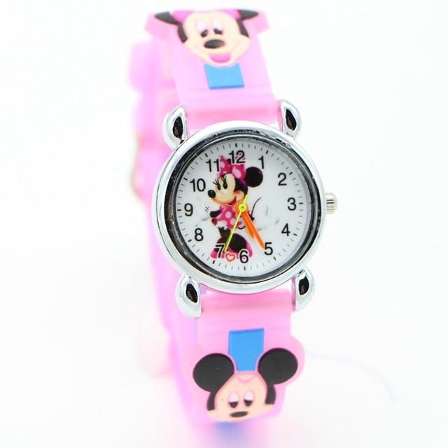 3D cartoon desgin Students fashion Watches Children Kids watch Boys Casual Quartz Wristwatch feminino Relojes kol saati clock