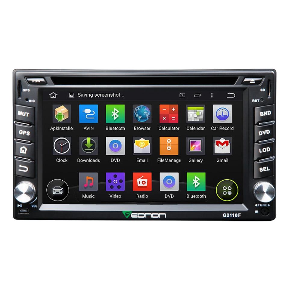 Eonon 6 2 Quad Core font b Android b font Two 2 DIN Car GPS DVD