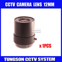 Factory Direct 1 3 HD F1 2 CCTV Fixed Iris IR Infrared 12mm CS Lens For