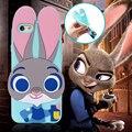 Zootopia Джуди Кролик Чехол Забавный 3D Мультфильм Силиконовые Крышка Телефона Для iPhone 5C Бесплатная Доставка