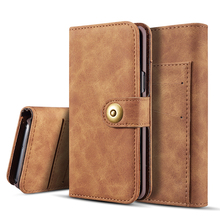 Retro Leather Phone Case For Samsung S20 Ultra S10 Plus S9 S8 S10e S7 edge Case Wallet Magnetic Case For Galaxy Note 10 Plus 9 8