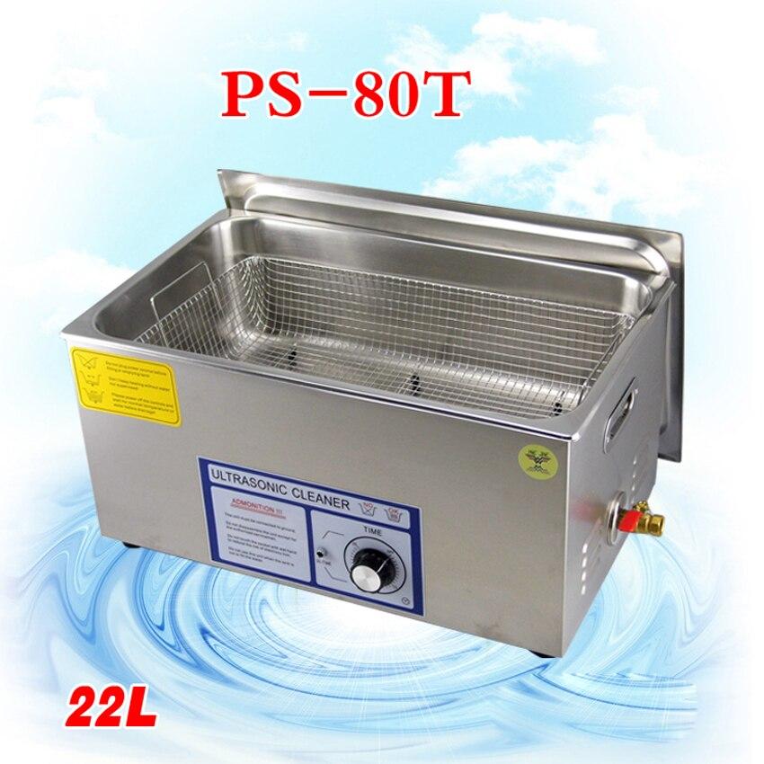 1 шт. PS 80T 480 Вт Ультразвуковой очиститель для материнской платы/схема/Электронные компоненты/КПБ пластины ультразвуковая чистка машины