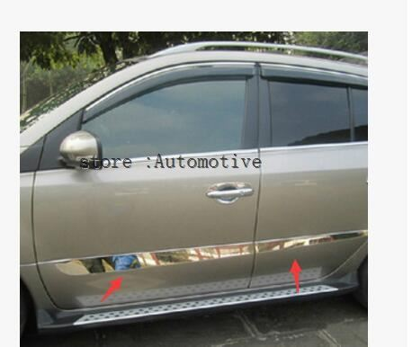 Stainless Steel door Side Molding Trims For RENAULT KOLEOS 2008 09 10 2011 2012 2013 2014 2015-in Chromium Styling from Automobiles & Motorcycles    1