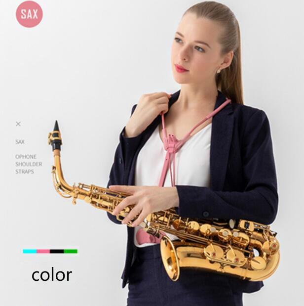 Newest Alto Tenor Saxophone Accessories Neck Shoulder Strap Belt Saxholder Musical Parts
