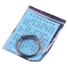 1.5mm x 65CM/ 80CM Copper Aluminum Cored Wire Low Temperature Aluminium Welding Rod
