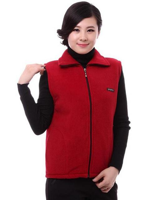 Factory sales Fall Winter Women cardigan sleeveless vest jacket brand Large size L-4XL Support behalf of the consignor