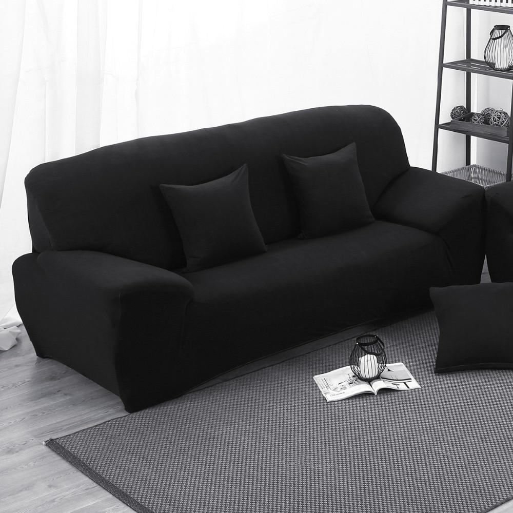 noir canap couverture promotion achetez des noir canap couverture promotionnels sur aliexpress. Black Bedroom Furniture Sets. Home Design Ideas