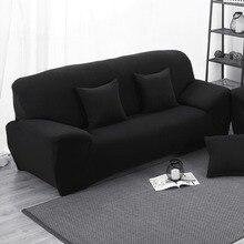 Popular Black Sofa CoverBuy Cheap Black Sofa Cover Lots From - Black sofa covers slipcovers