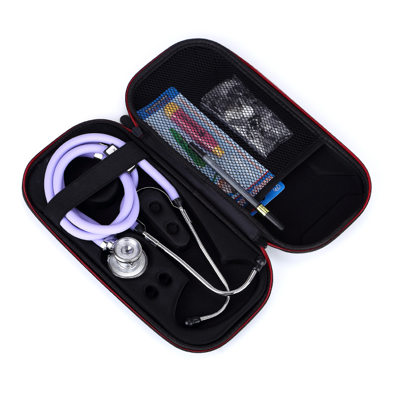 GUANHE Case for Doctors/Nurses.Stethoscope Carrying Case Box Cover Pouch For 3M Littmann/MDF/ADC/Omron Stethoscope/Hard Drive
