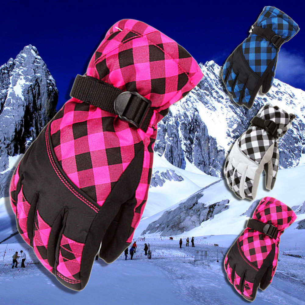 Snowboard font b Gloves b font Snowmobile Motorcycle Riding Winter font b Gloves b font Windproof