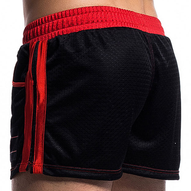 Mesh Breathable Cool Mens Shorts Summer 2018 New Fast Dry Fitness Male Shorts For Men Comfortable Soft Homewear in Board Shorts from Men 39 s Clothing