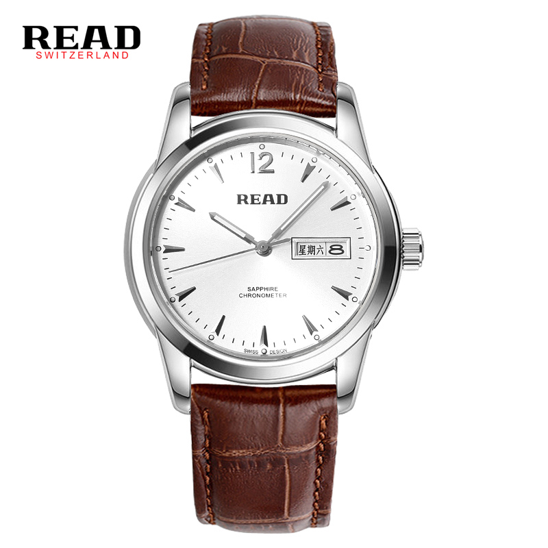 READ Watch 2019 sapphire luxury brand clock sapphire zegarek men watches date full stainless steel 6001 black relogio masculino READ Watch 2019 sapphire luxury brand clock sapphire zegarek men watches date full stainless steel 6001 black relogio masculino