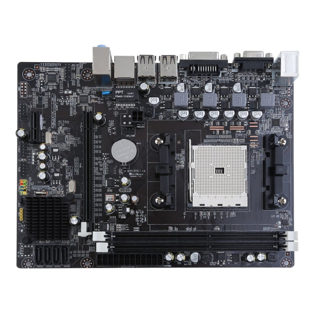 A55 Desktop Motherboard Supports For DIY Gigabyte GA A55 S3P A55-S3P DDR3 Socket FM1 Gigabit Ethernet Mainboard free shipping original motherboard for asus f1a55 v plus socket fm1 ddr3 boards a55 desktop motherboard