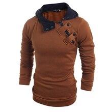 Drop shipping Brand new fashion men Slim casual men's discount sweater 4 colors jacket winter warm hat top coat plus 3XL