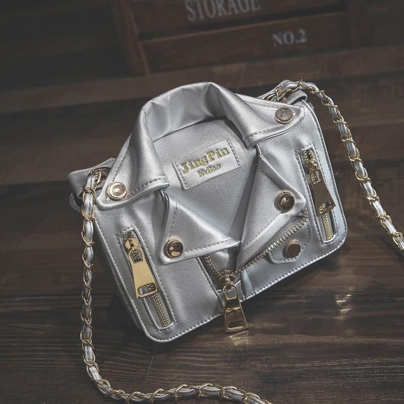 Promotion!Free Ship Hot Brand Designer Motorcycle Bags Women Clothing Shoulder Jacket Bags Messenger Bag Women Leather Handbags (5)