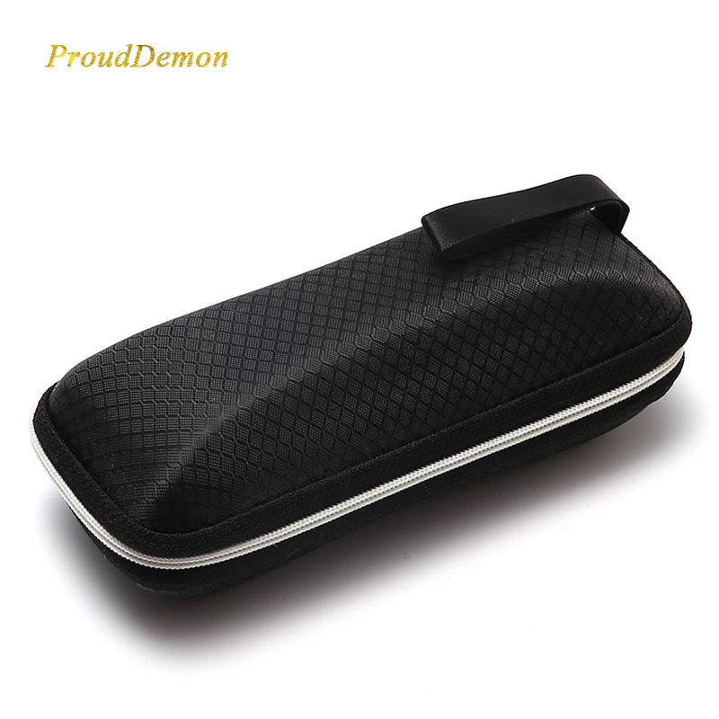 Portable Waterproof Zipper Eyeglasses Case with Glasses Pouch Cleaning Cloth And Screwdriver