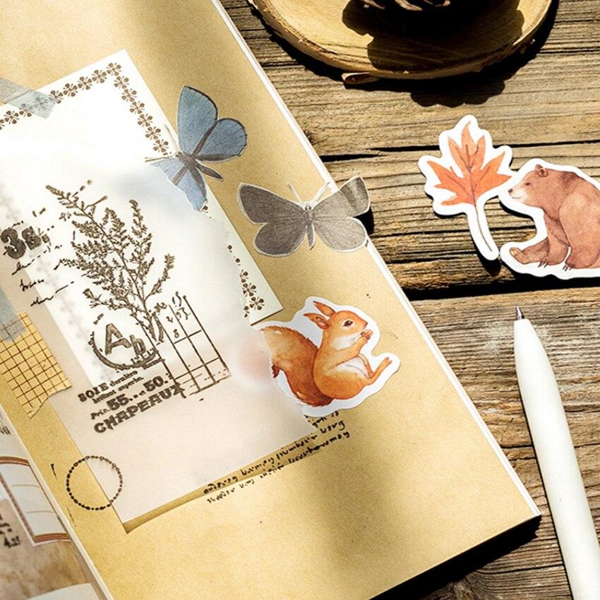 etiqueta adesivos diário dos desenhos animados adesivo