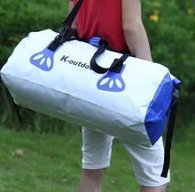 50L Women Man portable waterproof bag dry bag gym bag for canoe kayak and rafting sports outdoors camping travel kit travel bag