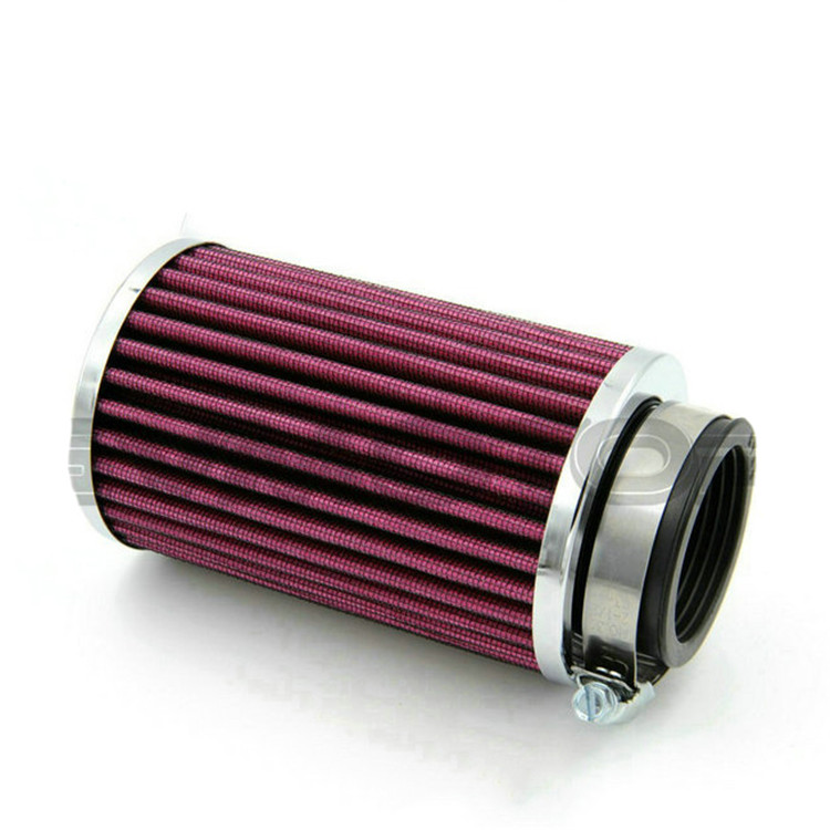big size 46MM 48MM 50MM 52MM 54MM 60MM universal moto air filters scooter motorcycle air filter for harley motorbike air cleaner