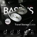 Baseus Хранения Путешествия Кабель Зарядное Устройство Адаптер Оригинальный USB Кабель Для Iphone 7 Плюс 6 6 s Плюс 5 5S Ipad mini Air Pro IOS 10