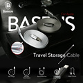 Baseus Travel Storage Cable Fast Charger Adapter Original USB Cable For Iphone 7 Plus 6 6s Plus 5 5s Ipad mini Air Pro IOS 10