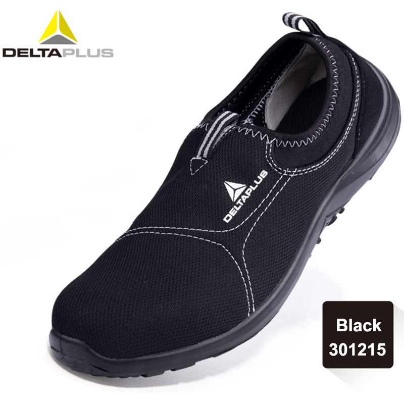 Deltaplus Safety Shoes Summer Breathable Labor Shoes Steel Toe Cap Lightweight Work Anti smashing Protective Footwear-in Safety Shoe Boots from Security & Protection