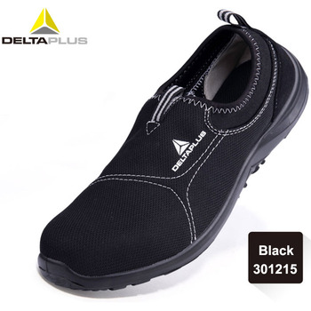 Deltaplus Safety Shoes Summer Breathable Labor Shoes Steel Toe Cap Lightweight Work Anti-smashing Protective Footwear