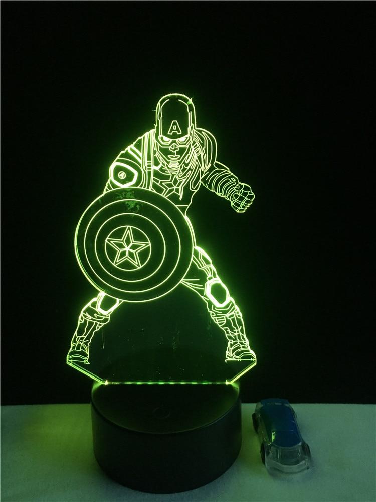 Luzes da Noite de acrílico luz da noite Estilo : Fashion Sports Cool