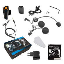 New Hot BT-S2 Waterproof Bluetooth Motorcycle Motorbike Headset Helmet Intercom AL EU Plug