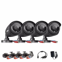 ANNKE Discount 1080N Security Camera 4 Pcs 1 30Megapixels 1280 960 Weatherproof Bullet Cameras Kits For