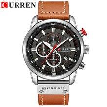 Curren Quartz Vogue Business Sports Watches Luxury Brand Men's Army Military Watch Man Quartz Clock Relogio Masculino 8291